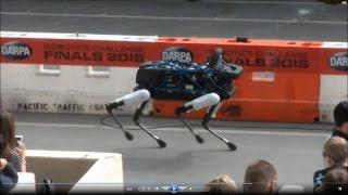 "getlinkyoutube.com-DARPA Robotics Challenge Finals - Boston Dynamics ""Spot"""