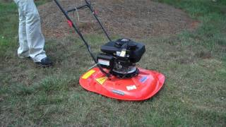 getlinkyoutube.com-Husqvarna Hovering Lawnmower is like a UFO