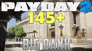 getlinkyoutube.com-Ghost 145+ mod - BIG BANK - PAYDAY 2 (Murky - Solo stealth DW)
