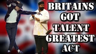 getlinkyoutube.com-Britains Got Talent - Suleman Mirza MICHAEL JACKSON Tribute (ALL performances)