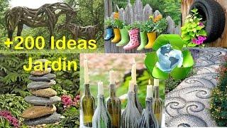 getlinkyoutube.com-Reciclado para Decorar Jardín +200 Ideas / Recycled for Garden +200 Ideas