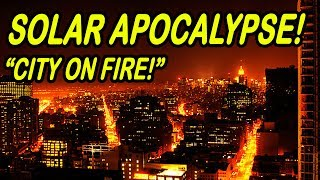 Minecraft | SOLAR APOCALYPSE | Entire City on FIRE!