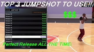 NBA 2K16 | Best JUMPSHOT For My Park, Pro Am, & My Career| Easy GREEN LIGHTS