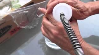 Manor, Georgia Water heated to 125° VOC testing