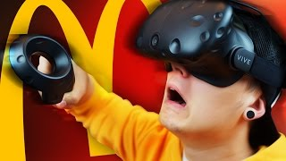 getlinkyoutube.com-ВИРТУАЛЬНЫЙ МАКДОНАЛЬДС | ИВАНГАЙ | HTC Vive Job Simulator