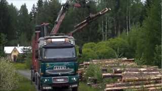 getlinkyoutube.com-SISU, E18 cat 630 Timber truck