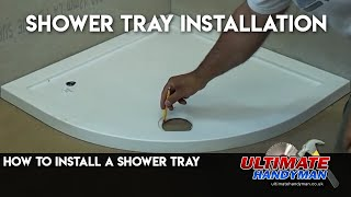 getlinkyoutube.com-How to install a shower tray