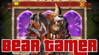 Castle Clash INSANE Gem Rolls For Beast Tamer!