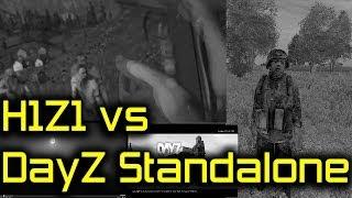 getlinkyoutube.com-H1Z1 vs DayZ Standalone