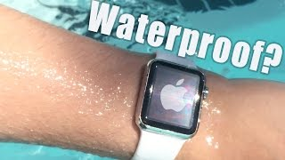 getlinkyoutube.com-Apple Watch: Is it Waterproof? [Water Submersion Test]