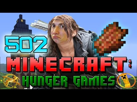 Minecraft: Hunger Games w/Mitch! Game 502 - WET NOODLE STRENGTH SCARE!