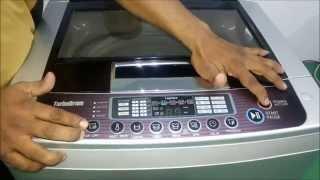 getlinkyoutube.com-GreenDust Fully Automatic (Top Loading) Washing Machine Demo in Marathi