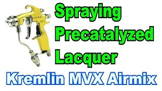 getlinkyoutube.com-Spraying Precat Lacquer