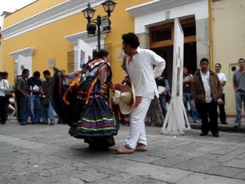 Baile tradicional de OAxaca
