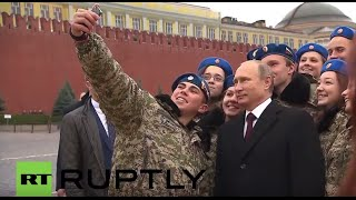 getlinkyoutube.com-Russia: Putin attends Unity Day celebration at Red Square