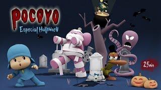 getlinkyoutube.com-Pocoyo Halloween: Pelis de terror para niños ¡25 minutos de diversión!