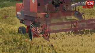 "getlinkyoutube.com-Farming Simulator 2013 Żniwa 2014 ""Bizon Z-056 Ursus C-330"""