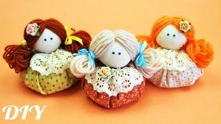getlinkyoutube.com-Как сделать КУКЛУ Зерновушку / How to make Textil Doll / ✿ NataliDoma