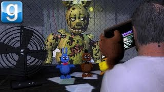 THE FAZBEAR FRIGHT! | Five Nights At GMOD 3 Official Map w/ dr Gibbs