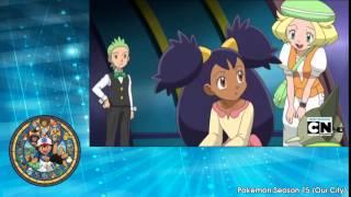 getlinkyoutube.com-Pokémon Rival Destinies Season 15   Episode 01 Enter Elesa, Electrifying Gym Leader