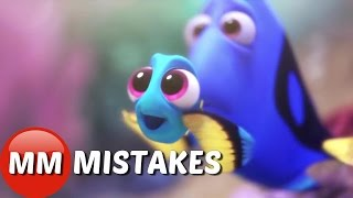 getlinkyoutube.com-Finding Dory Movie MISTAKES You Didn't See | Finding Dory Movie