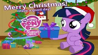 getlinkyoutube.com-My Little Pony Baby Twilight Sparkle Christmas Day Friendship is Magic Game for Children