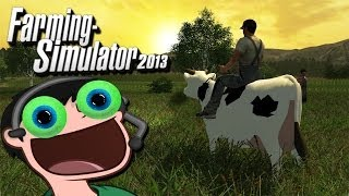 getlinkyoutube.com-A MAN AND HIS COW | Farming Simulator 2013 w/ Daithi De Nogla - Part 2