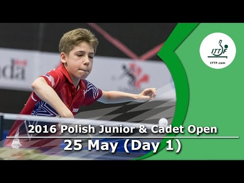 2016 Polish Junior & Cadet Open – Day 1 LIVE