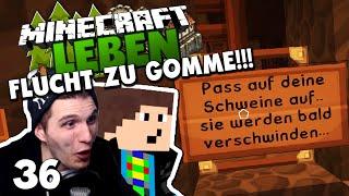 getlinkyoutube.com-WIR SIND IN GEFAHR! - FLUCHT ZU GOMME MIT EDGAR! ✪ Minecraft LEBEN #36 | Paluten