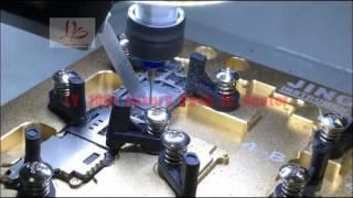 getlinkyoutube.com-LY 1001 automatic IC Polishing grinding machine for iphone  removing icloud tool