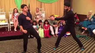 getlinkyoutube.com-Mohib and Judy Mehndi Dance 2015 (Nadeem and Owais)
