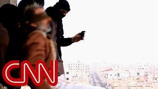getlinkyoutube.com-ISIS throws gay men off buildings