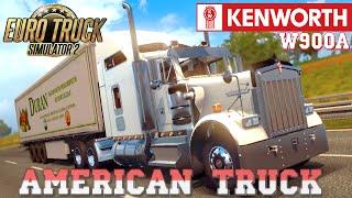 getlinkyoutube.com-Euro Truck Simulator 2 mod American truck KENWORTH W900A