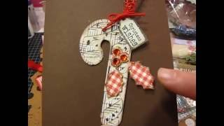 getlinkyoutube.com-Happy Mail from sweet Karen Brake + Candy Cane Christmas tags
