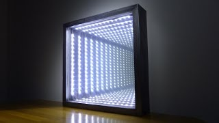 getlinkyoutube.com-How to Make an Led Infinity Illusion Mirror