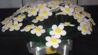 getlinkyoutube.com-como fazer vaso de flores com garrafa pet e eva