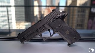 getlinkyoutube.com-SIG SAUER P226 SAO Legion: A 1911 Tactical DragQueen?