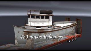 getlinkyoutube.com-Euro Truck Simulator 2 470 novos reboques para 1.21 download