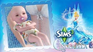 getlinkyoutube.com-The Sims 3 Cinderella #13 ซินเดอเรลล่าคลอดลูก