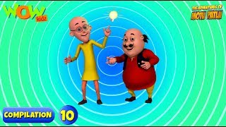 Motu Patlu 6 episodes in 1 hour | 3D Animation for kids | #10