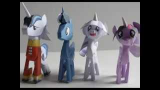 getlinkyoutube.com-Как сделать Май Литл Пони из БУМАГИ! How to make a Mу little Pony PAPER!