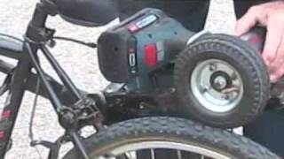 electric bicycle cordless drill powered