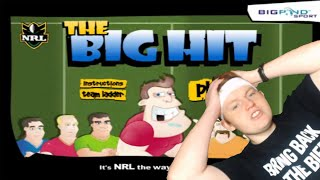 MRLUKE PLAYS THE BIG HIT!!!!! | NRL FLASH GAME