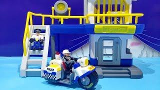 getlinkyoutube.com-Tonka Town Prison Police Station Playset - Tonka Toys For Children ★ For Kids Worldwide ★