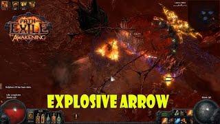 getlinkyoutube.com-Path of Exile - EXPOLSIVE ARROW ธนูสายถึก ทำลายล้าง บ้าเลือด