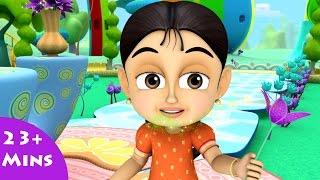 getlinkyoutube.com-Rainbozzles & Dazzle Flowers ✿ Bommi & Friends ✿ Chutti TV | Tamil Moral Stories For Kids |Animation