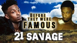 getlinkyoutube.com-21 SAVAGE - Before They Were Famous