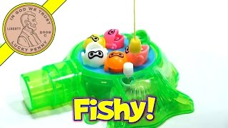 Fishing Game With Fishing Pole and Fish Shape Candy