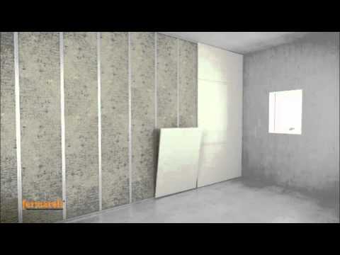 Montaż ściany z płyt FERMACELL