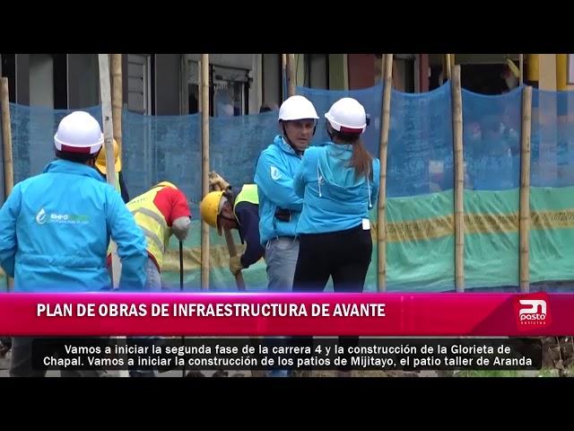 PLAN DE OBRAS DE INFRAESTRUCTURA DE AVANTE